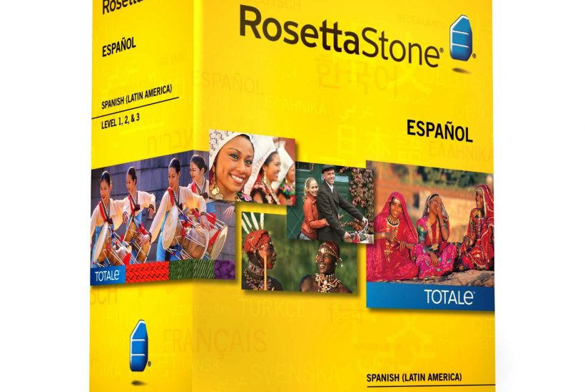 rosetta stone language training