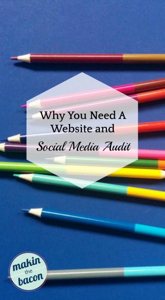 site and social media audit