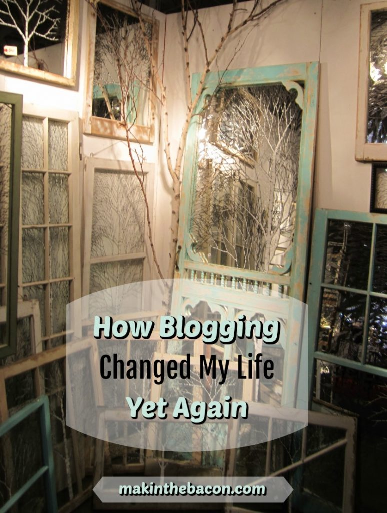 blogging changed my life yet again and enabled me to create a business out of it