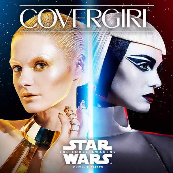 branding partnerships - Cover Girl and Star Wars