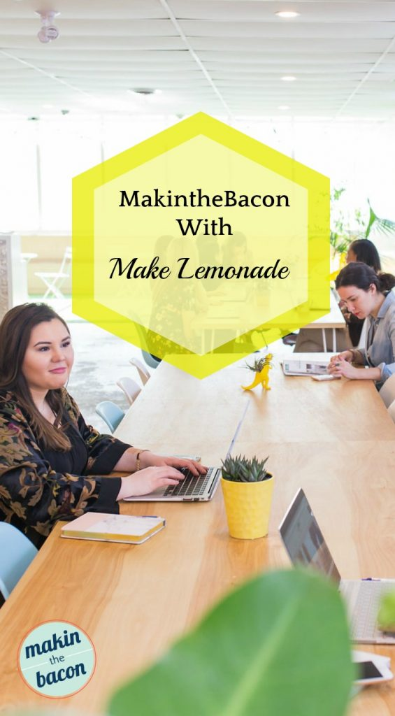 Blog Interview with Founder of Make Lemonade coworking space, Rachel Kelly